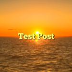 Test Post