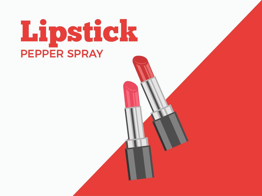posh lipstick pepperspray