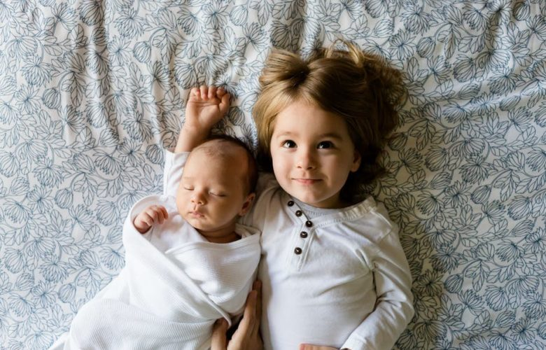 baby photography of brother boys