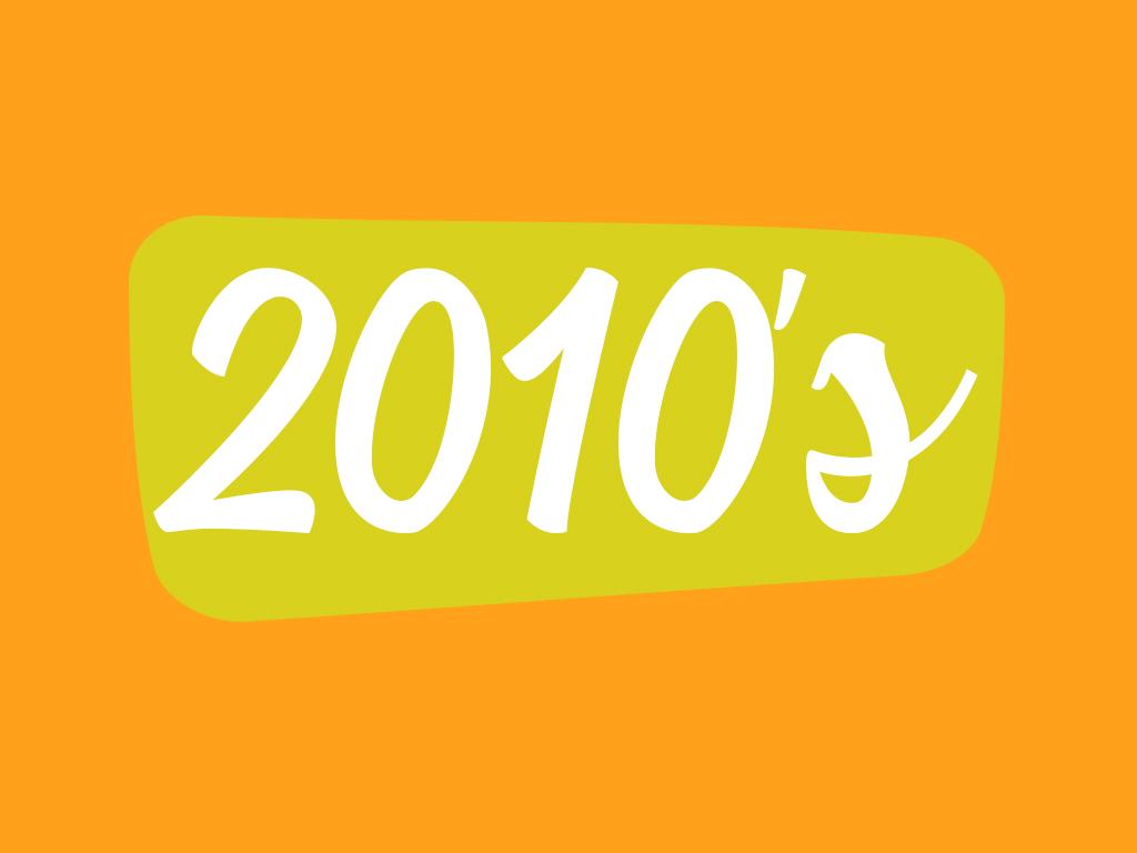 Footwear in 2010 decade