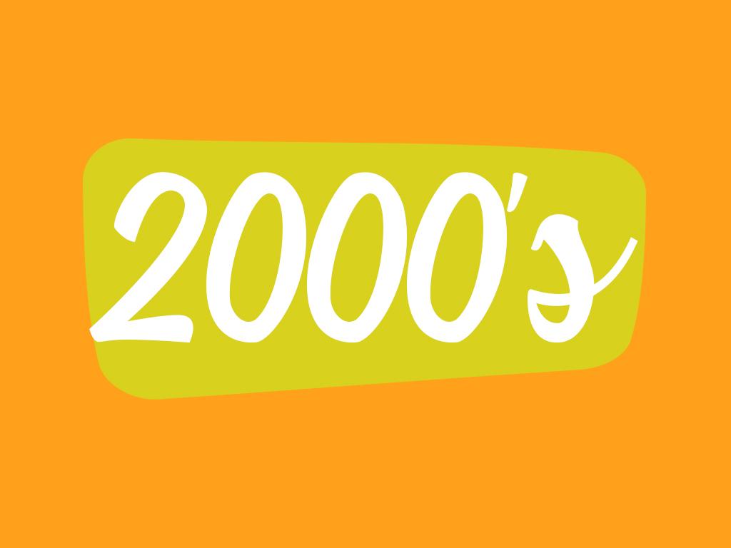 Footwear in 2000 decade