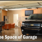 Few smart ways to use free space of your garage