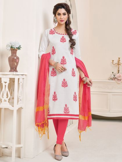 Salwar - The Face of Indian Fashion in Abroad white