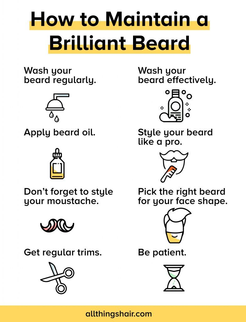 Maintain Your Beard In 8 Easy Steps