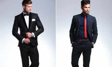 Difference between a tuxedo and a suit