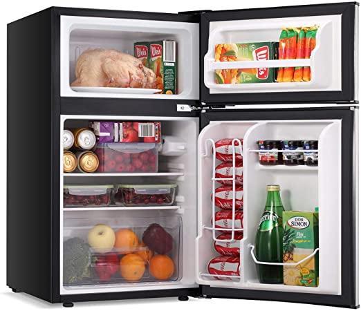 smallest mini fridge