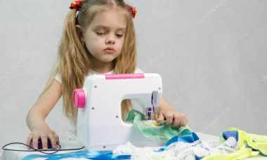 childrens sewing machine