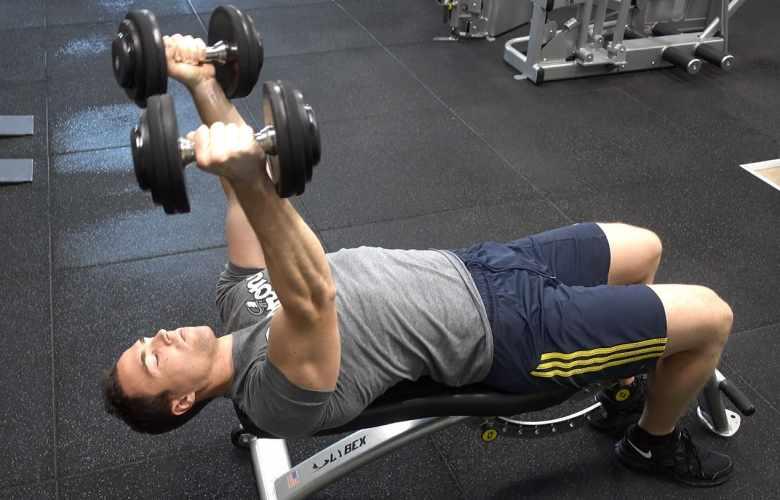 skull crusher workout