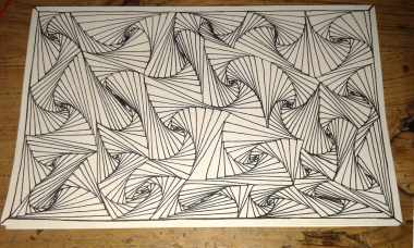 simple easy trippy drawings