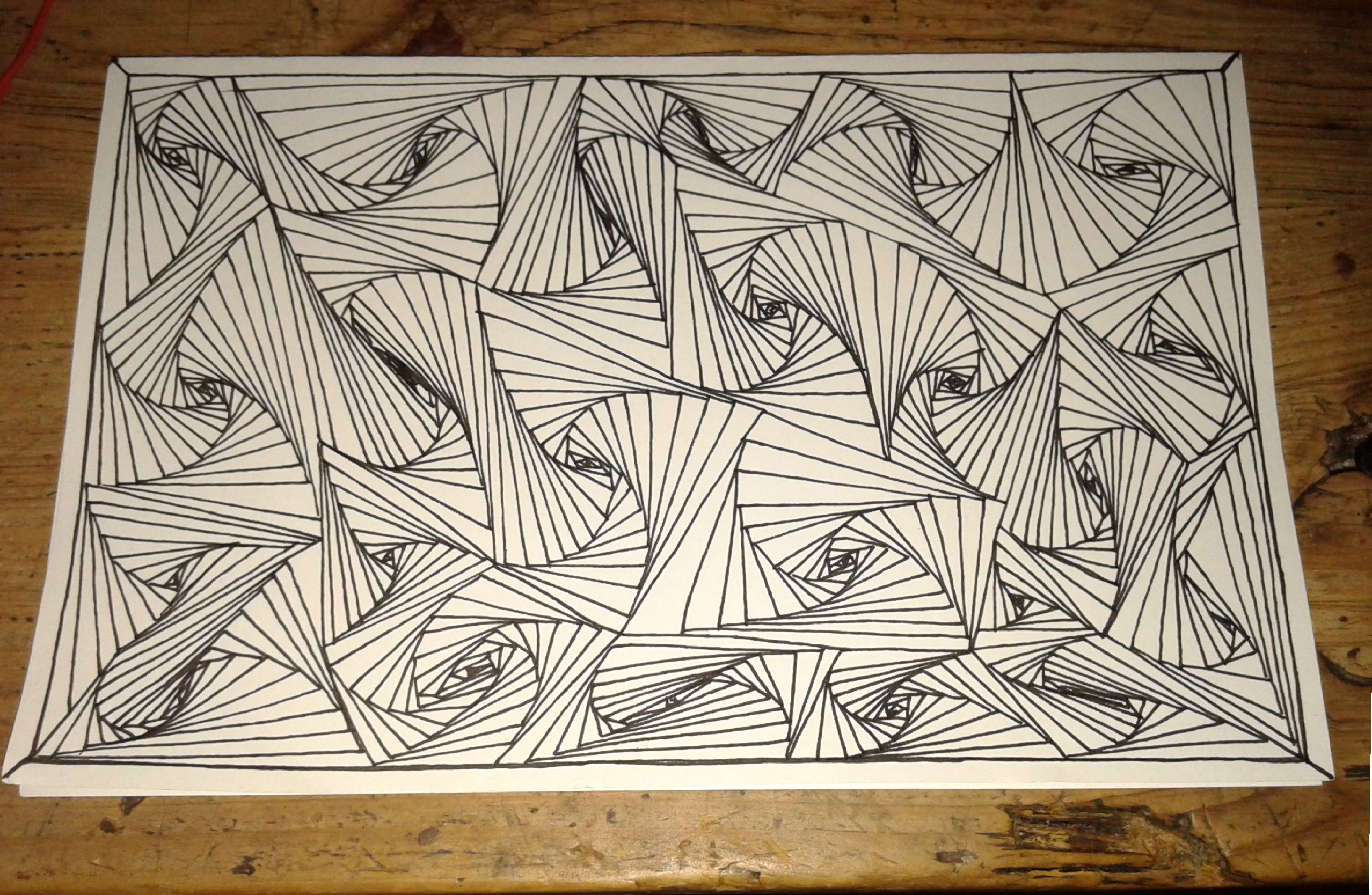 simple easy trippy drawings