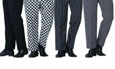 womens chef pants design