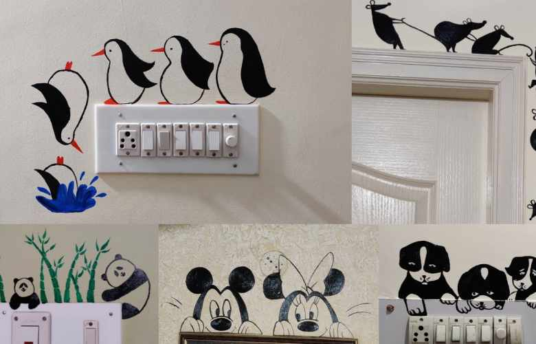switchboard painting